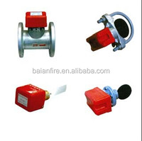 fire fighting water follow sensors fire indicator electronic thermal flow switch