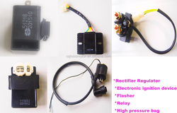 motorcycle rectifier regulator/Electronic ignition device /Flasher /Relay/ High pressure bag