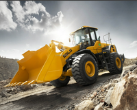 L956F wheel loader with Oil bath filter and sanding tyres for sudan market