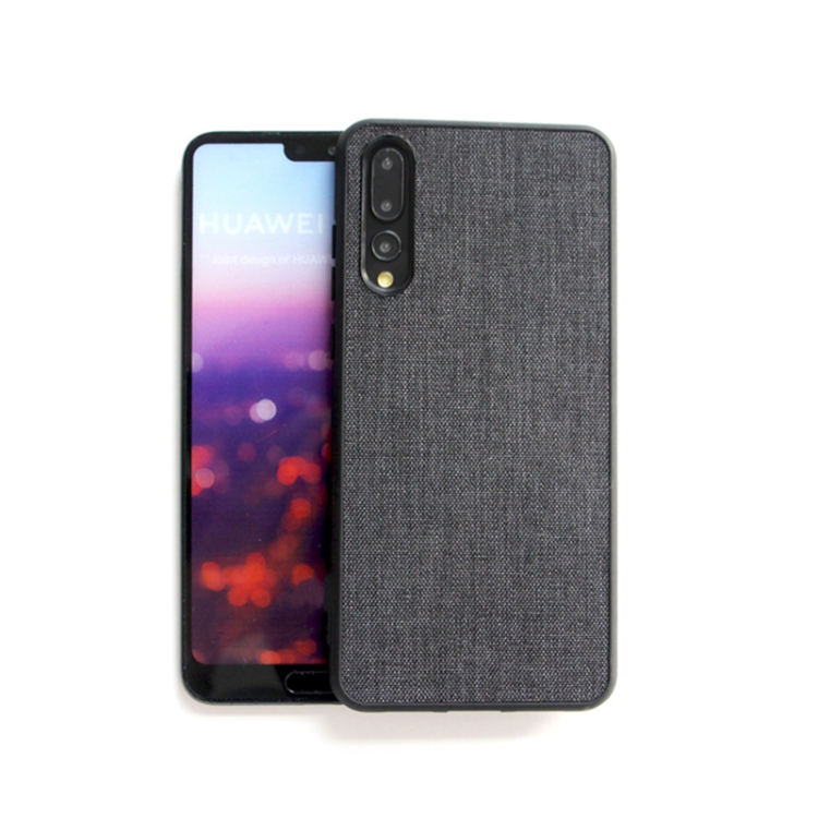 D194 Wholesale Price Oem Accept Canvas TPU PC Fancy Mobile Cover For Huawei P20 Pro