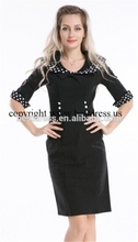 Bestdress cheap pin up Retro Pencil 50s 60s Retro Casual Evening New Plus size rockabilly dress boutique