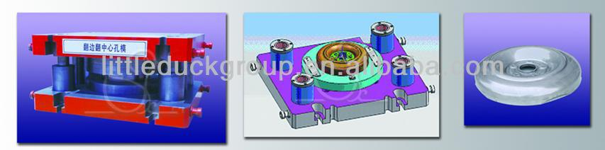 centre hole flanging-sizing die for steel wheel spoke making