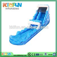 Contemporary top sell inflatable water slide with pools