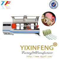 Adhesive roll tape slitting cutting machine/log roll slitter