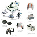 best quality big size 8in1 combo heat press machine