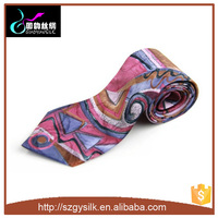 High Quality Custom Digital Printing Silk Tie