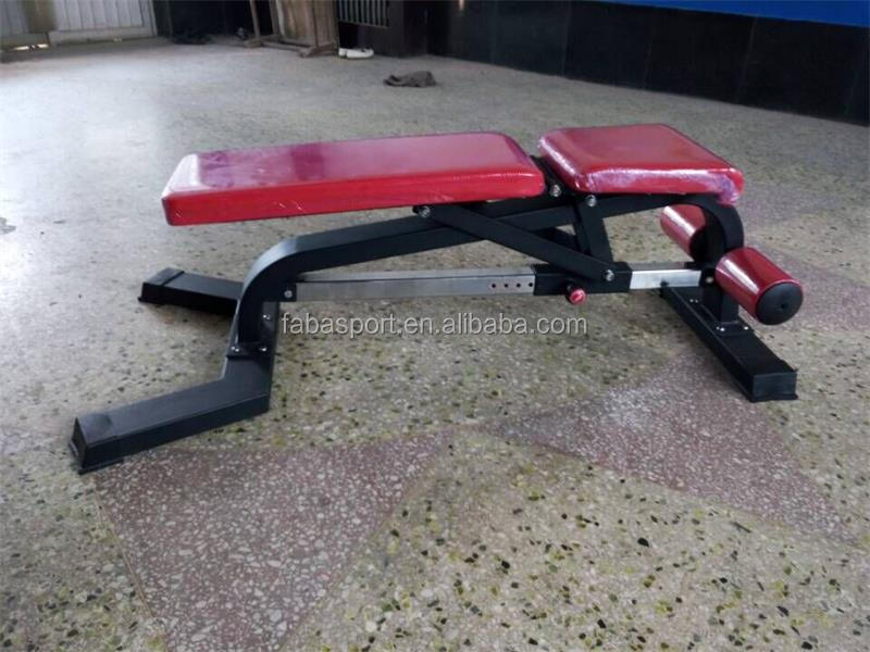Commercial Adjustable Weight Bench/Fashion high quality weight lifting bench