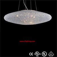 crystal decorative hanging pendant light 180 degree car cam