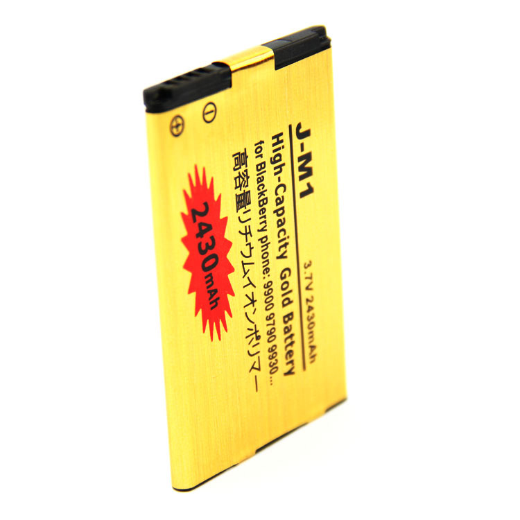 J-M1 High Capacity gold Battery for blackberry 9900 9790 9930