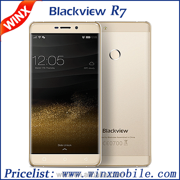 "Original Blackview R7 Mobile Phone 5.5"" MTK6755 Octa-core Android 6.0 4GB 32GB Dual SIM GPS 4G FDD Lte Smartphone 4g"