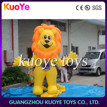 inflatable fashion Lion cartoon,cute inflatable Lion,advertising inflatable Lion cartoon