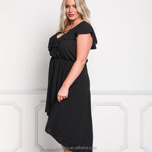 australia girls sex photo long black plus size chiffon woman casual dress