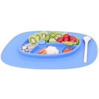 Wholesale Bpa Free Silicone Kids Eating Melamine Plates And Bowls