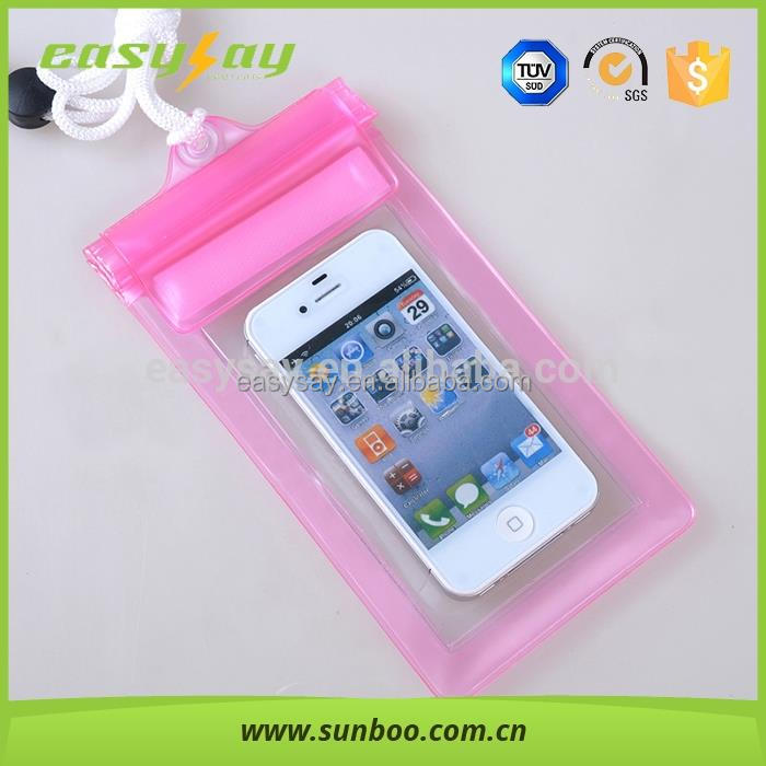 PVC universal underwater pouch Diving case,waterproof bag for mobile phone