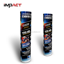 Printed Cardboard Advertising Totem Display for Sport Products