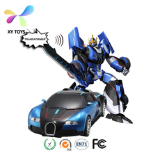 XY-601 2.4G SOUND CONTROL CHANGING CAR Scale 1:12 R/C Toy Car for sale