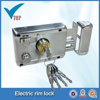 Hot sale brass cylinder double bolt door lock