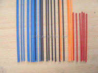 colorful solid fiberglass light tent poles for different sizes