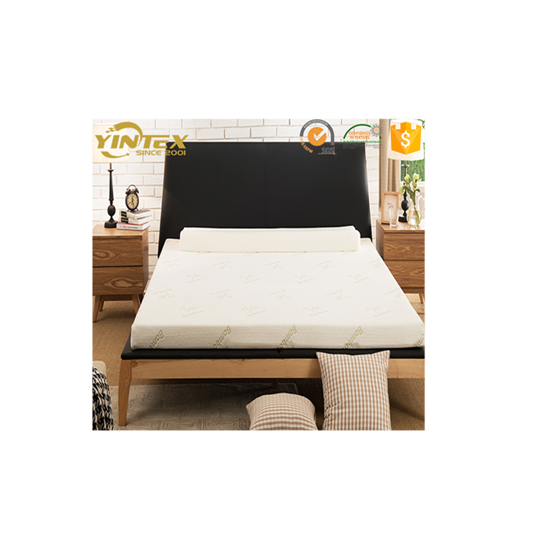 Hot Item latest design bamboo fabric soft hypoallergenic memory foam fitted mattress topper with elastic band - Jozy Mattress | Jozy.net