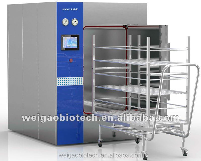 Large Horizontal Medical Pressure Steam 1500L pharmaceutical factory Autoclave Sterilizer