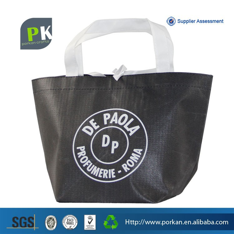 PP nonwoven Laminated Tote Bag, Laminated Shopper Bag, Promotion Carry Bag