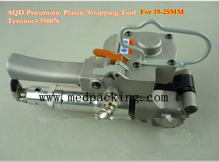 Pneumatic PET/Plastic Strapping tool/Banding Tool for 13-19mm PET/PP Banding strap(Tension:>=3000N)