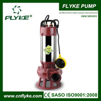 Cutting Impeller Submersible Sewage Centrifugal Electric Cutter Pump