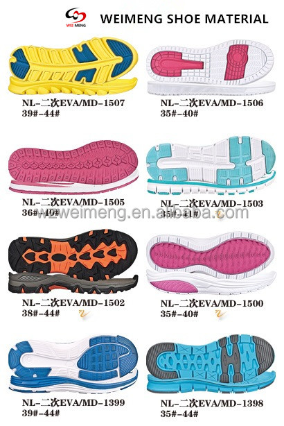 Wholesale Colorful Tennis Sport Shoe Sole For Women 2016