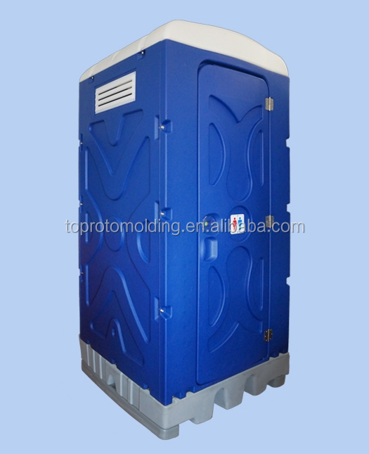 M And T Portable Toilets : Squat type mobile toilet for outdoor with station buy