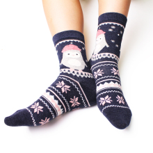 Top Sale Women Cartoon Colorful Brand Name Hand Knitted Socks