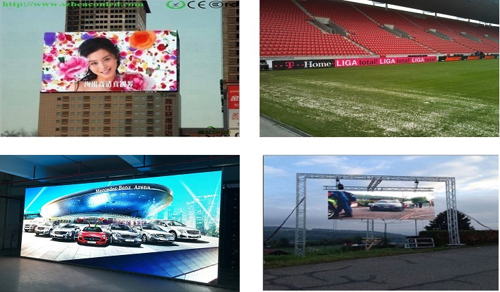 China cheap price outdoor LED display board