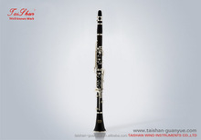 Hot sale,best price and professional design bb gold plated clarinet
