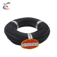 For sale 18 awg gauge coated glass fiber rope Silicone Rubber Wire