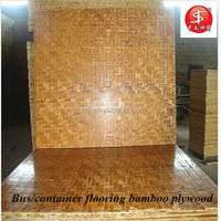 bus/container flooring bamboo plywood manufacture in Hunan