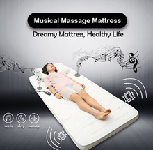 High End Music Massage Sponge Foam Bed Luxury Mattress with Vibration and Music