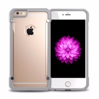 For iPhone 6 Protective Case Slim Hybrid Plastic TPU Case for Apple iPhone 6s 6G 6 Shock Proof Hard Phone Covers