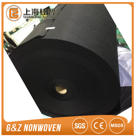 charcoal cloth balck or white fabric manufacture zhejiang provider with good price
