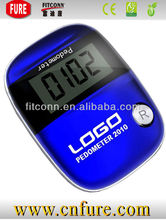 2014 promotion gift high quality pedometer with step counter