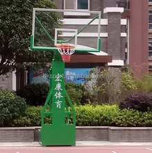 Oblique Imitated Hydraulic Basketball Stands
