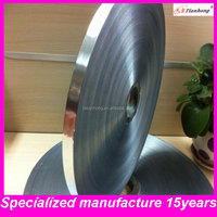 single-sided al/polyester tape aluminum foil with coat for coxial cable braiding or wrap(al/pet/al)
