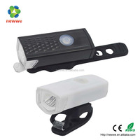 3W USB front bike motorcycle rechargeable led flashing light