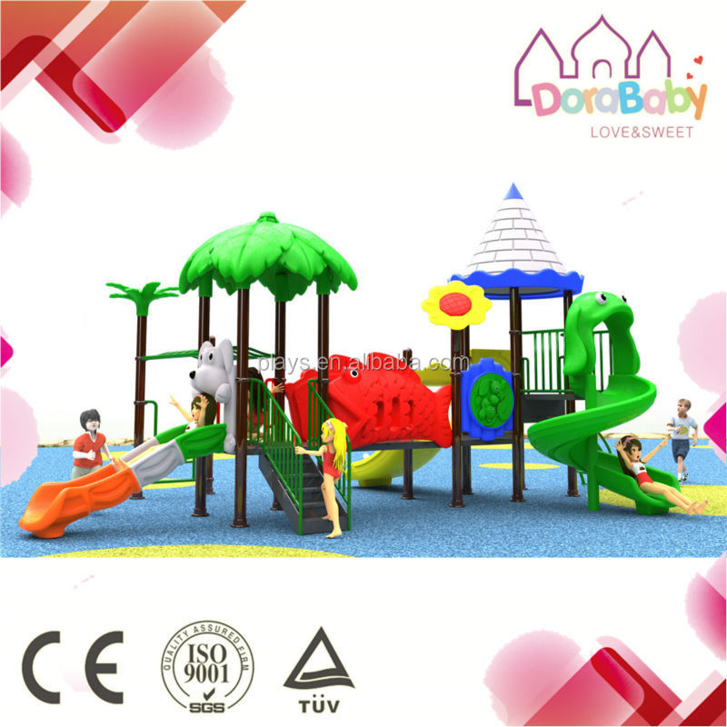 Customized Design Outdoor Playground Equipment, Kids Outdoor Playhouses for sale