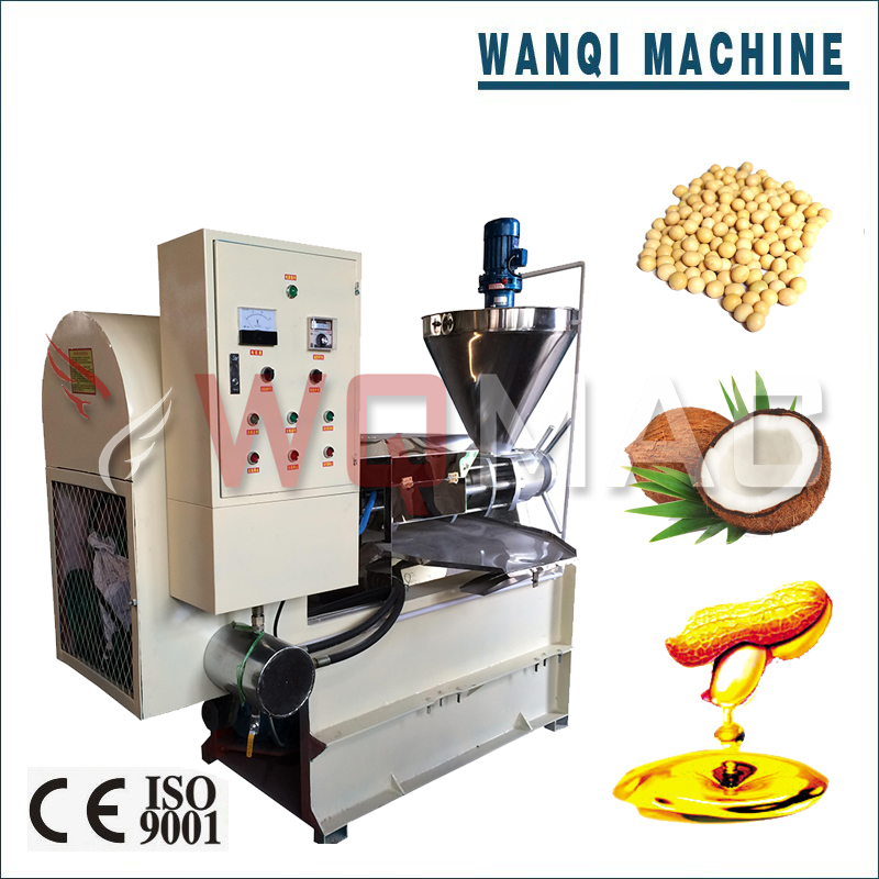 Wanqi D-150 Cooking Oil Making Machine Efficient Oil Processing Machine from Seeds