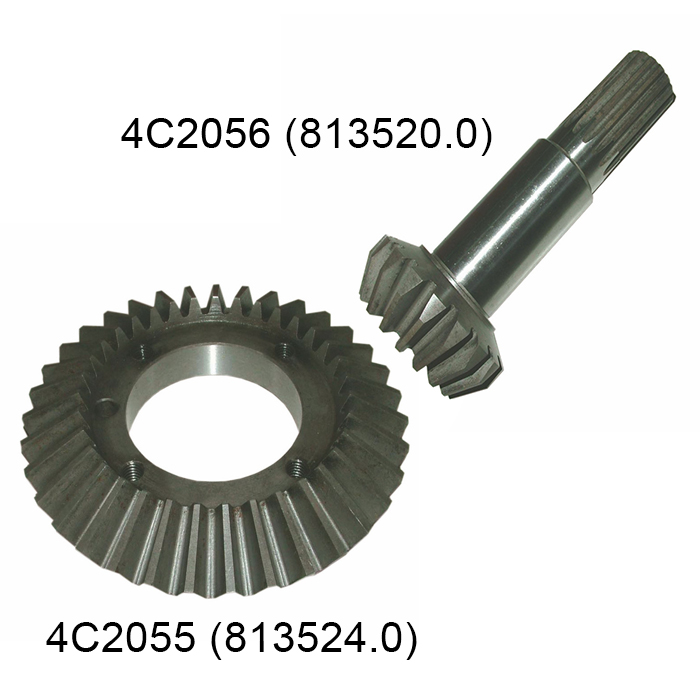 High Quality Mini Spiral Bevel Gear For Harvester Parts