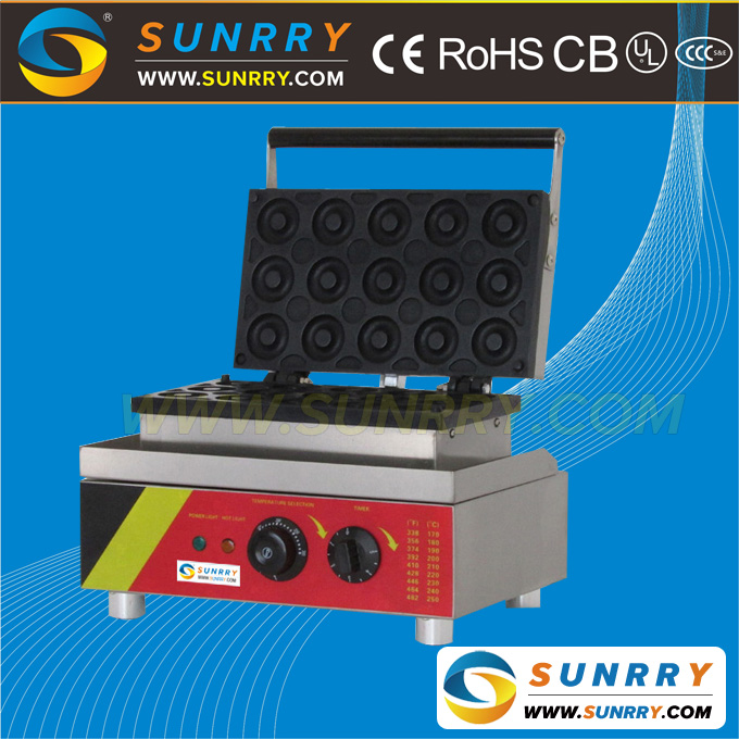 Industrial mini electric donut making machine maker for sale (SUNRRY SY-DN33E)