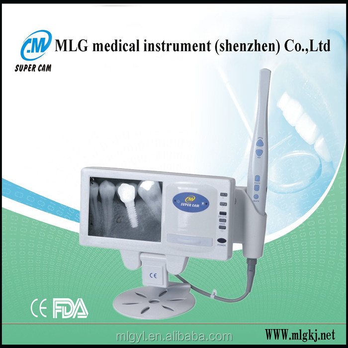 M-168 super cam wire dental intra oral camera video camera x ray film reader devices for dental chair dental oral camera