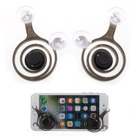 Mini Fling Mobile Phone Game Remote Control Joystick with Suction Mounts