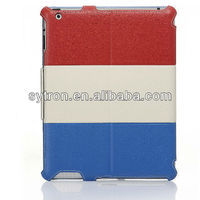 National ffag design leather case for iPad case