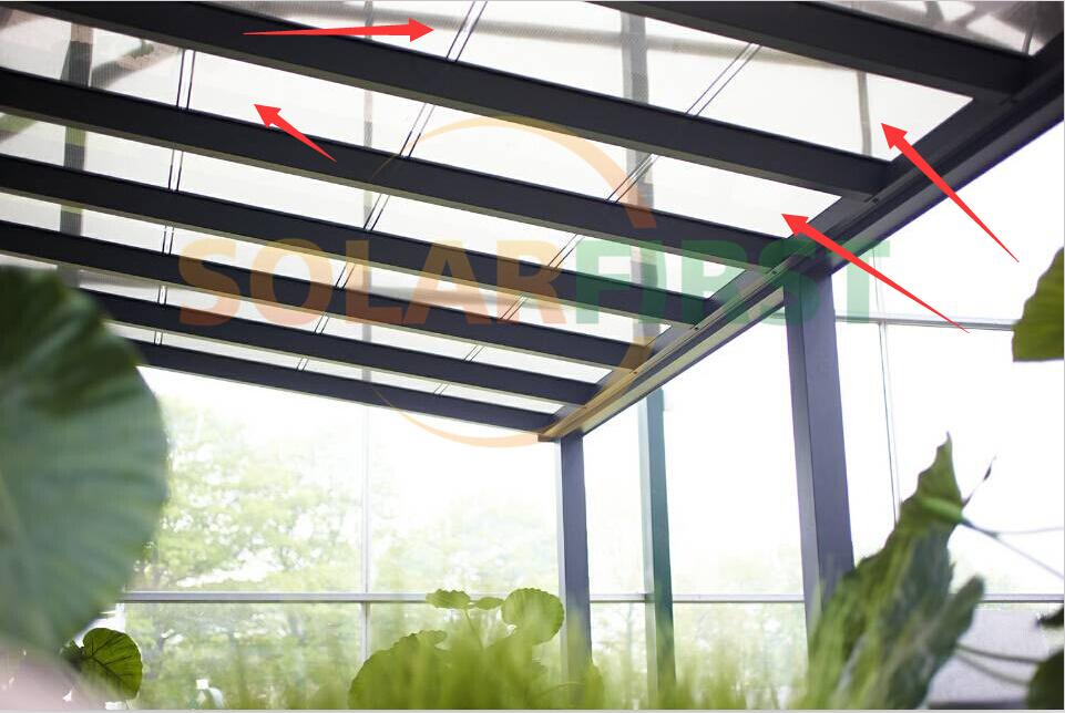 Amorphous Silicon Thin Film Bipv Transparent Solar Panel
