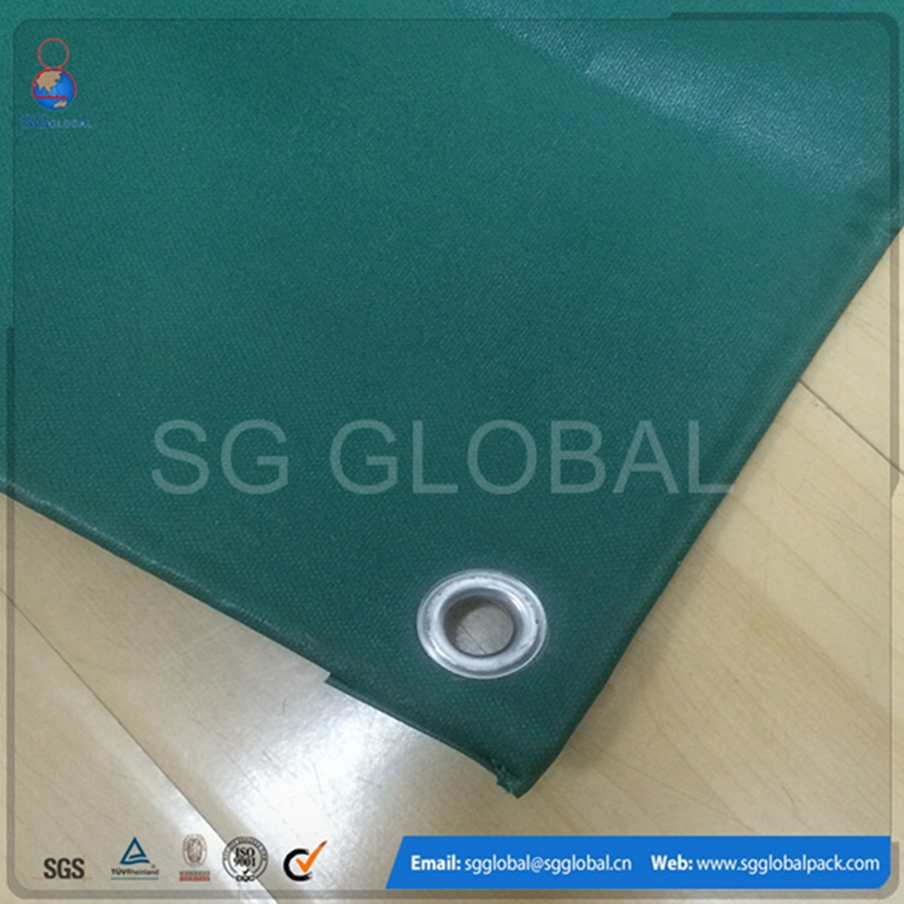 100% raw material pvc tarpaulin fabric stocklot
